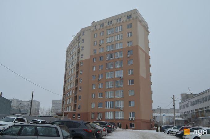 Ход строительства ЖК Ювелирный, Дом 1, январь 2017