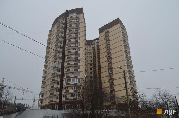 Ход строительства ул. Бережанская, 54, Дом 1, январь 2017