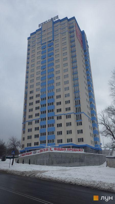 Ход строительства ЖК Демеевка, 3 дом, февраль 2015