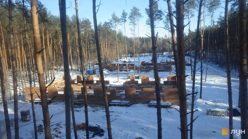 Ход строительства ЖК Идея, 2-3 дома, январь 2017