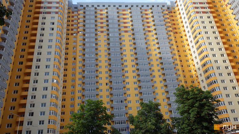 Хід будівництва ЖК на Кондратюка, 2 будинок, липень 2014