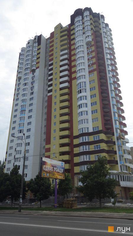Ход строительства Харьковское шоссе, 182, Дом, июль 2014