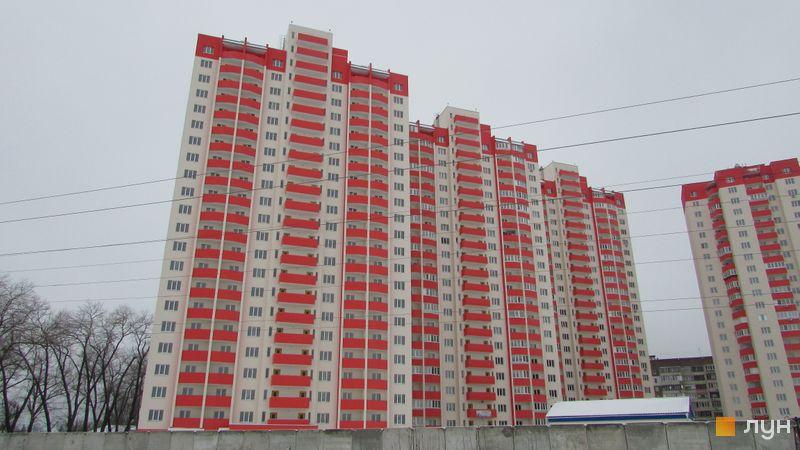 Хід будівництва ЖК Олімпійський, 1-3 будинки, лютий 2017