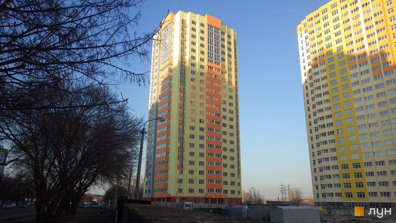 Хід будівництва ЖК Яскравий, 3 будинок (вул. Майорова, 8), березень 2015
