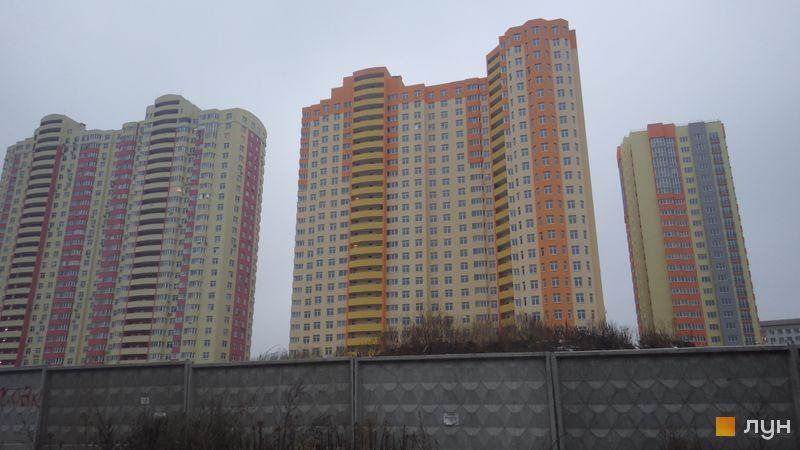 Хід будівництва ЖК Яскравий, 2 будинок (вул. Дегтяренка, 35), грудень 2014