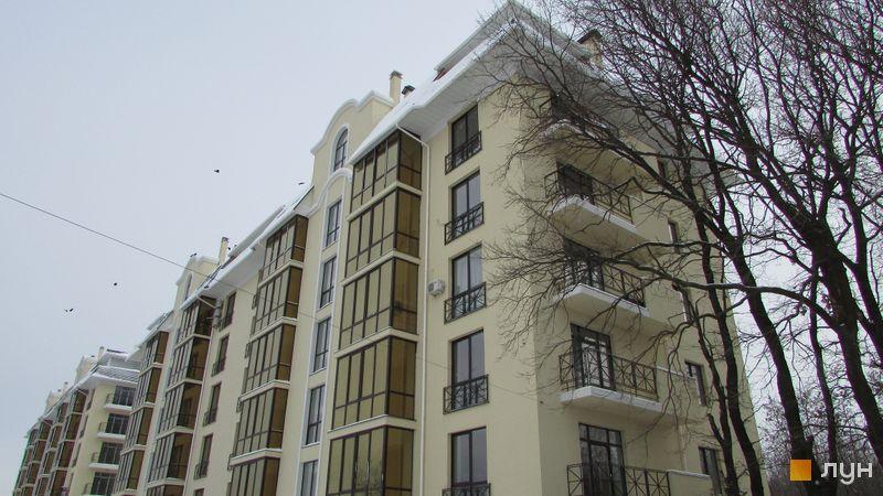 Хід будівництва ЖК Almond apartments, 1 будинок, лютий 2017