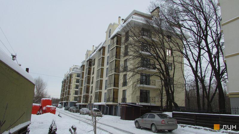 Хід будівництва ЖК Almond apartments, 2 будинок, лютий 2017