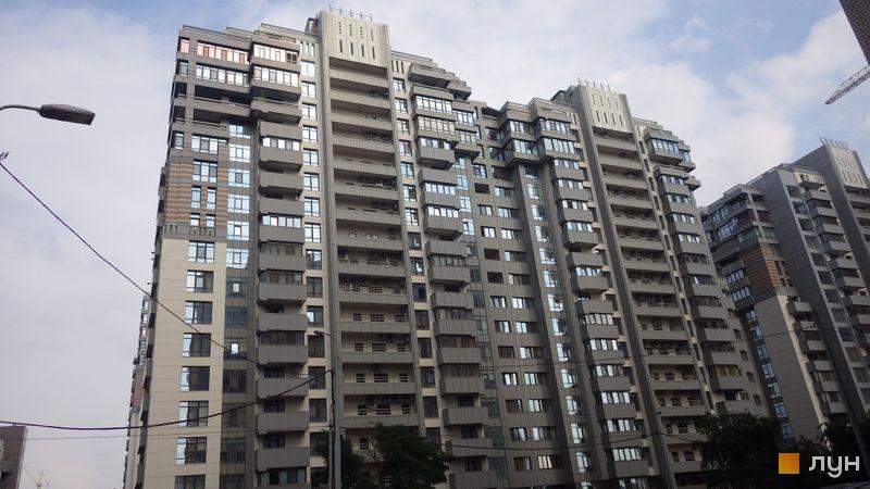 Хід будівництва ЖК Новопечерські Липки, вул. Михайла Драгомирова, 12, липень 2014