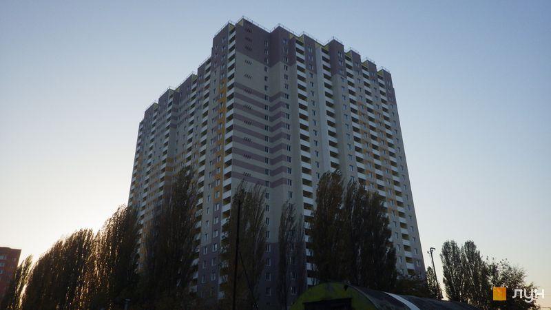 Хід будівництва просп. Науки, 55а, Будинок 1, жовтень 2014