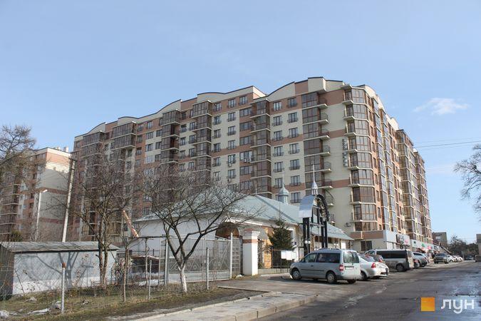 Ход строительства ЖК Добра оселя, 1 дом, февраль 2017