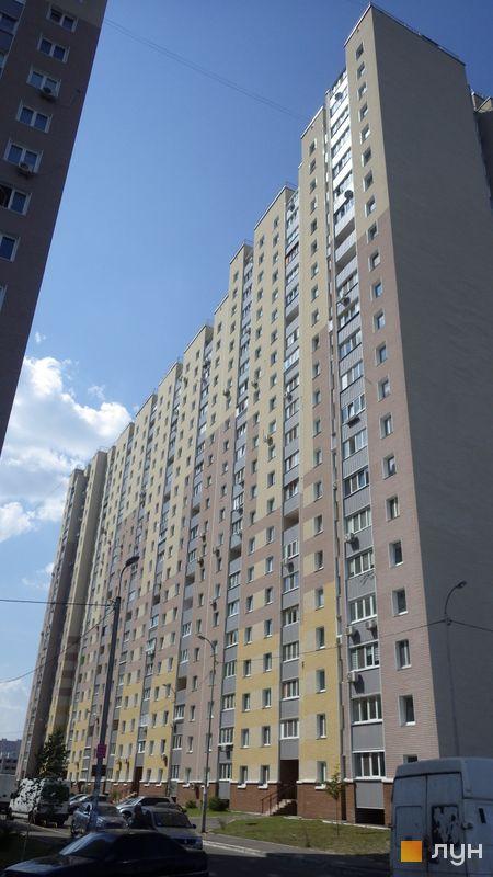 Хід будівництва ЖК Милославичі, 1 черга (будинок 13), липень 2014