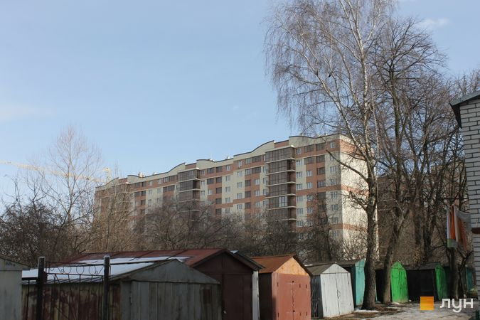 Ход строительства ЖК Добра оселя, 4 дом (секции Г1-Г3), февраль 2017
