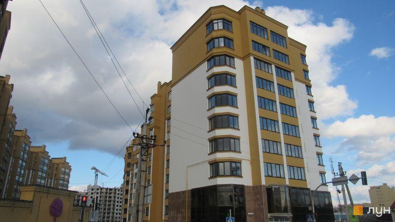 Ход строительства ЖК Счастливый на Петропавловке, 7 дом (ул. Соборная, 14 а,б,в), февраль 2017