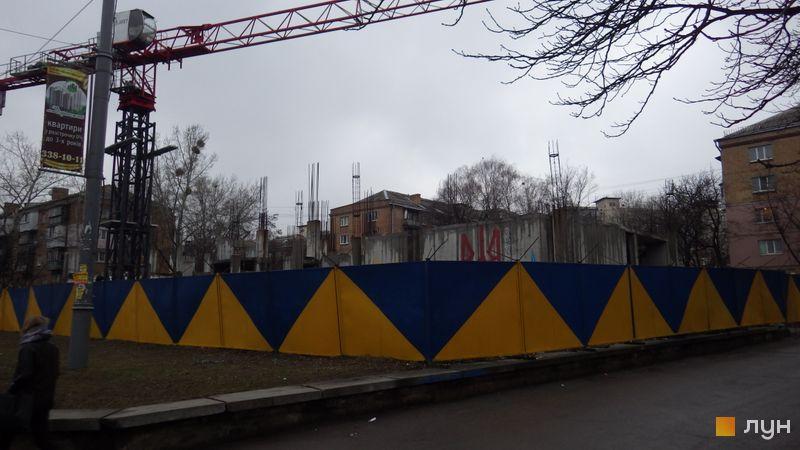 Ход строительства ЖК UNO City House, , февраль 2015