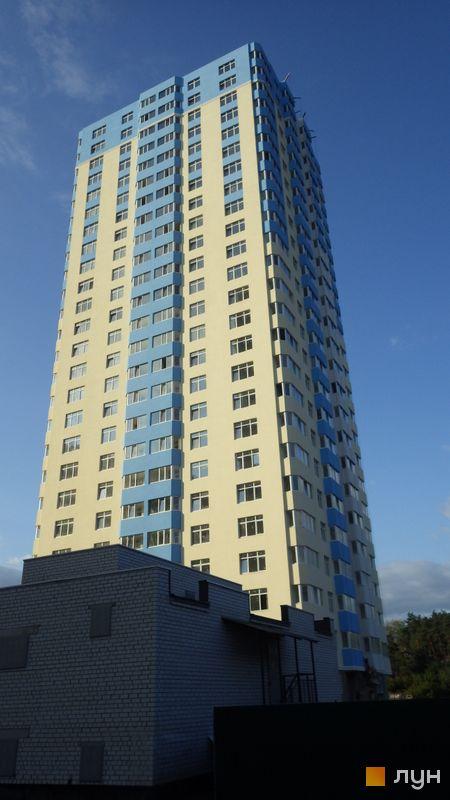 Хід будівництва ЖК Паркові озера, 3 черга (будинок 7), серпень 2014