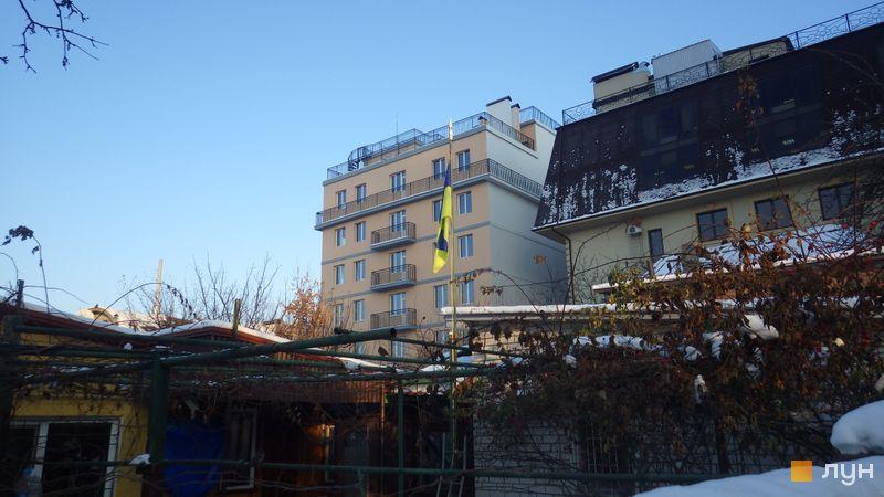 """Хід будівництва Клубний будинок """"Цитадель"""", Будинок, грудень 2014"""