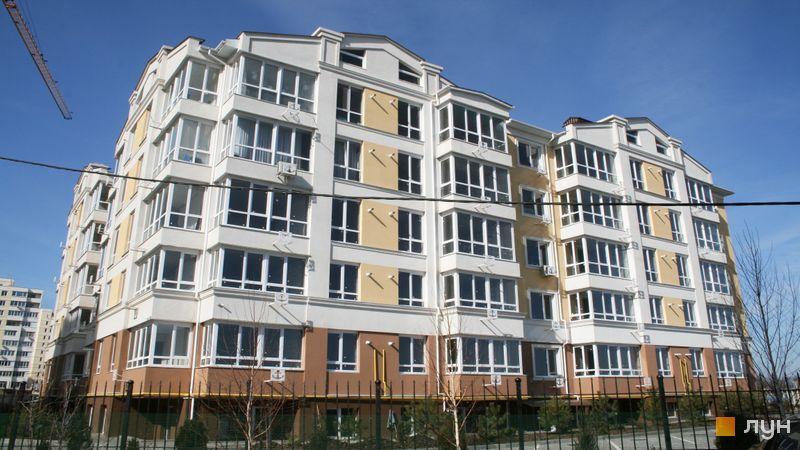 Ход строительства ЖК Якоря, 1 дом, март 2017