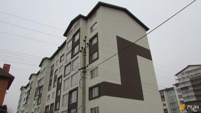 Хід будівництва ЖК Супутник-Теремки, 2 будинок (вул. Кармелюка, права секція), березень 2017